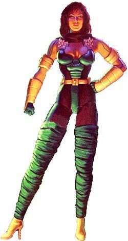 Cerebra (Earth-928) from X-Men 2099 Oasis Vol 1 1 01