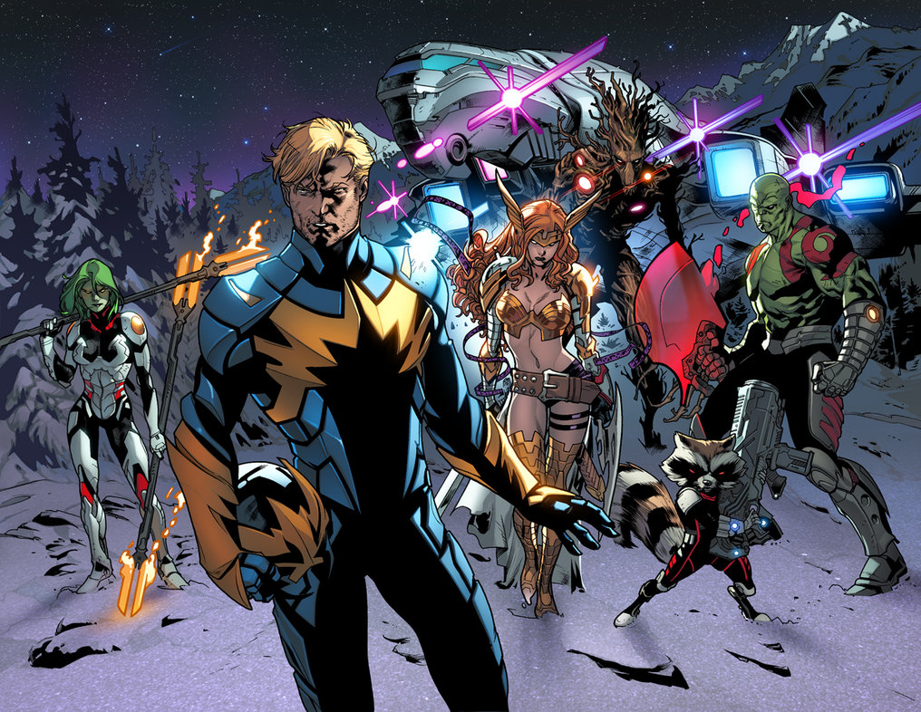 Guardians Of The Galaxy Earth 616 From All New X Men Vol 1 22NOW 001