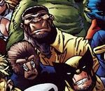 Luke Cage (Earth-8101) from Marvel Apes Vol 1 2 001