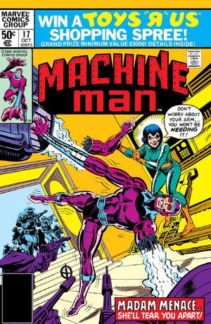 Machine Man Vol 1 17