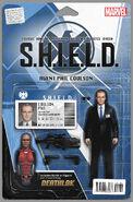 Mockingbird S.H.I.E.L.D. 50th Anniversary Vol 1 1 Action Figure Variant