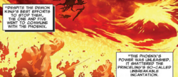 Phoenix Messiah (Demon) (Earth-616) from Uncanny X-Men Vol 2 13 0004