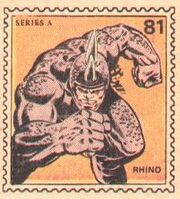 Rhino Marvel Value Stamp