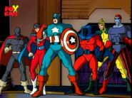 Six American Warriors (Earth-92131) from Spider-Man The Animated Series Season 5 4 0001