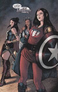 Suffragists (Earth-12591) from Marvel Zombies Destroy! Vol 1 2 0001