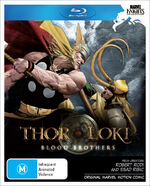 Thor & Loki Blood Brothers Blu ray Cover