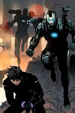 War Machine Drones (Earth-616) from Avengers Vol 5 35 004