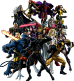 X-Men (Earth-12131) from Marvel Avengers Alliance 001