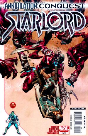 Annihilation Conquest - Starlord Vol 1 4