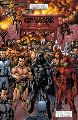 Avengers (Earth-22795) from What If? Avengers Disassembled Vol 1 1 0001