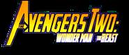 Avengers Two- Wonder Man and Beast (2000) logo