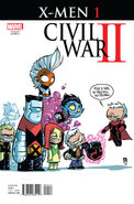 Civil War II X-Men Vol 1 1 Young Variant