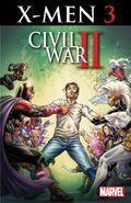 Civil War II X-Men Vol 1 3 Textless