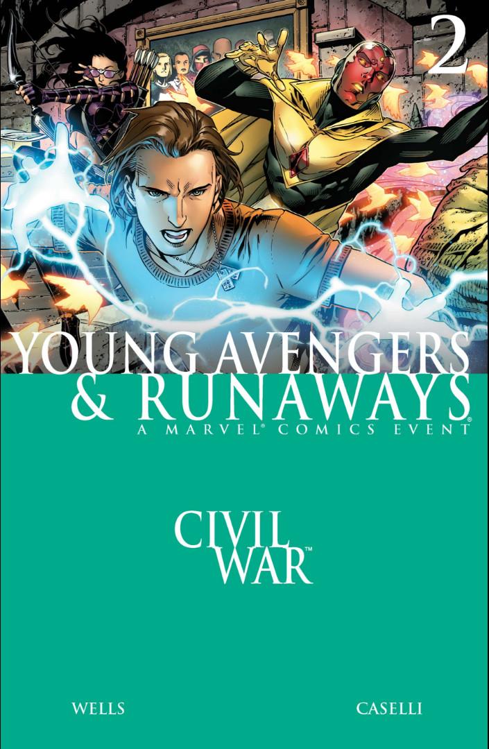 Civil War Young Avengers and Runaways Vol 1 2