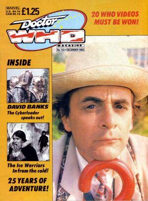 Doctor Who Magazine Vol 1 143
