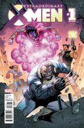 Extraordinary X-Men Annual Vol 1 1 Lim Variant