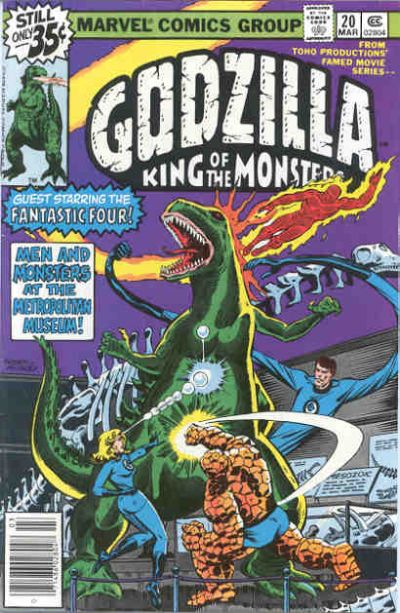 Image result for GODZILLA (Marvel Comics) fantastic four