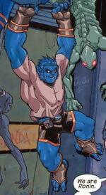 Henry McCoy (Earth-2301) from X-Men Ronin Vol 1 5 001