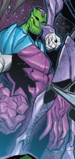 Hive (Poisons) (Earth-17952) Members-Poison Super-Skrull from Venomverse Vol 1 5 001