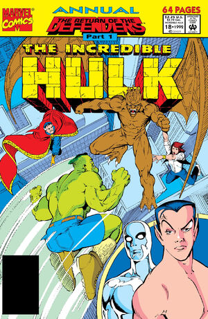 Incredible Hulk Annual Vol 1 18