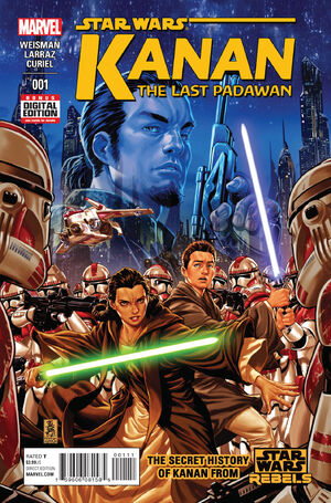 Kanan - The Last Padawan Vol 1 1
