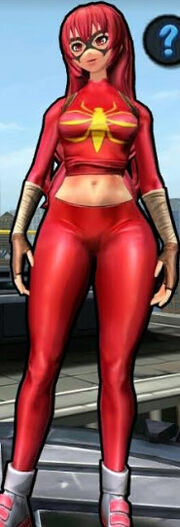 Mangaverse Spider-Woman (Mary Jane Watson) from Spider-Man Unlimited (video game) 002