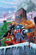 Marvel Holiday Special Vol 1 2011 Textless