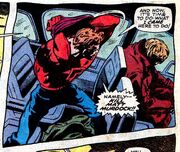 Matthew Murdock (Earth-616) faking his death in Daredevil Vol 1 54