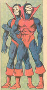 Percy & Barton Grimes (Earth-616) from Official Handbook of the Marvel Universe Vol 2 2 001