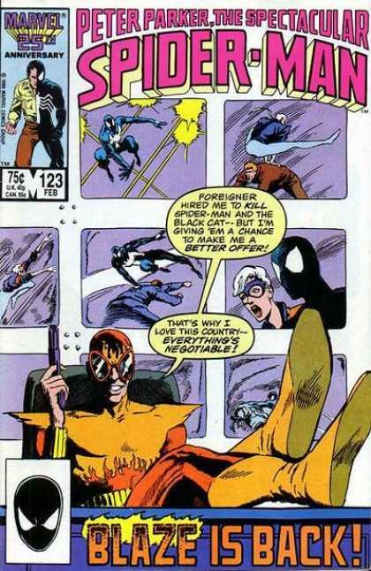 Peter Parker, The Spectacular Spider-Man Vol 1 123