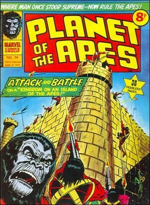 Planet of the Apes (UK) Vol 1 34