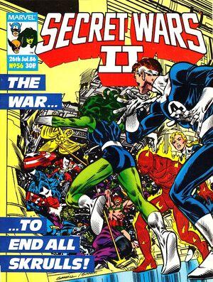 Secret Wars II (UK) Vol 1 56