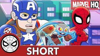 Spidey and Cap Track Down Blackjack! Marvel Super Hero Adventures - It's On Me SHORT
