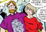 Walt Simonson (Earth-616) and Louise Simonson (Earth-616) from Thor Vol 1 329 0001