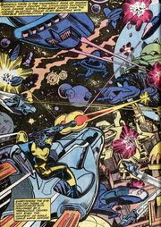 Xandar from Fantastic Four Vol 1 205