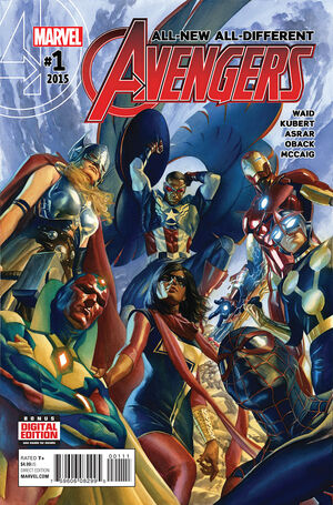 All-New, All-Different Avengers Vol 1 1