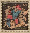 Bucky Barnes Marvel Value Stamp