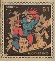 Bucky Barnes Marvel Value Stamp