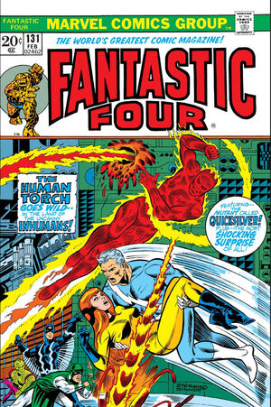 Fantastic Four Vol 1 131