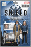 Fury S.H.I.E.L.D. 50th Anniversary Vol 1 1 Action Figure Variant