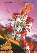 Gaveedra Seven (Mojoverse) from Marvel Masterpieces Trading Cards 1993 Set 0001