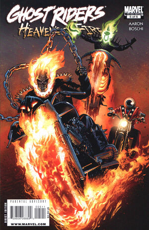 Ghost Riders Heaven's on Fire Vol 1 5
