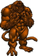 Gorgilla (Earth-616) from Official Handbook of the Marvel Universe A-Z Update Vol 1 3 001