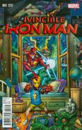 Invincible Iron Man Vol 3 1 Bradshaw Variant