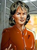 Justine Hammer (Earth-616) from Invincible Iron Man Vol 2 25 001