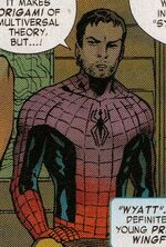 Peter Parker (Earth-11418) from Captain America Corps Vol 1 4 0001