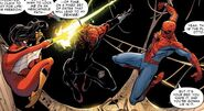 Peter Parker (Earth-616) and Jessica Drew (Earth-616) Vs. Otto Ovtavius (Earth-616) from Amazing Spider-Man Vol 3 15 001