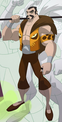 Sergei Kravinoff (Earth-26496) from Spectacular Spider-Man (Animated Series) 001