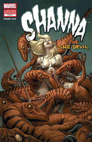 Shanna the She-Devil Vol 2 7