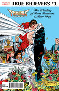 True Believers Phoenix Presents the Wedding of Scott Summers & Jean Grey Vol 1 1